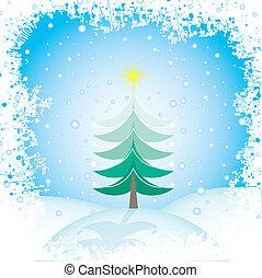 christmas táj