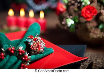 Christmas table 9