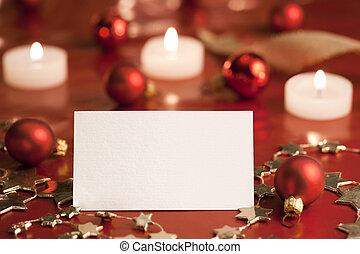 Christmas tag.