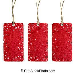 Christmas Tag Set One