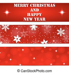 Christmas tags on white background