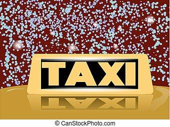 christmas taxi