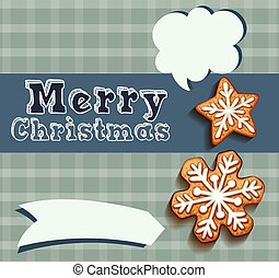 Christmas Text Balloon Vector Speech Bubble