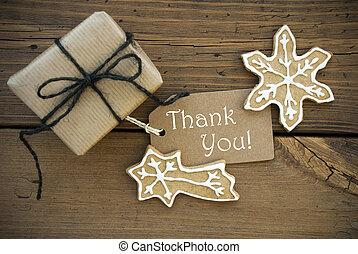 Christmas Thank You Banner