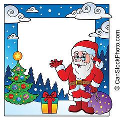 Christmas theme frame 3