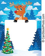 Christmas theme frame 8