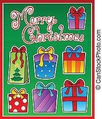 Christmas theme greeting card 2
