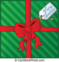 Christmas theme greeting card 4