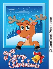 Christmas theme greeting card 9