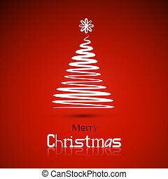 Christmas theme, red background