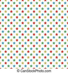 Christmas themed stars pattern