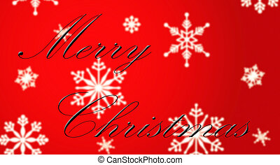 Christmas Time - Christmas background with the words Merry ...
