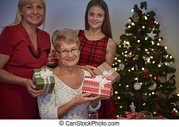 Christmas time- only with family