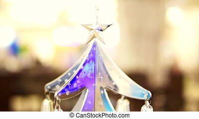 Christmas time silver ornaments - Christmas time silver...