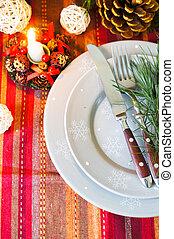 Christmas time table decoration - Chrstmas time table set...