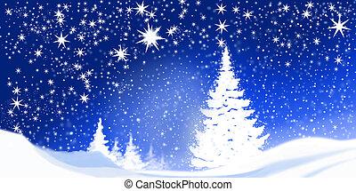 Christmas time - white christmas