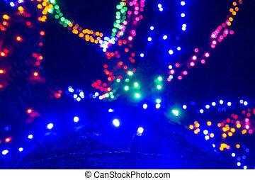 christmas time winterfest celebration at carowinds amusement...