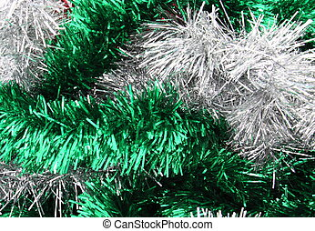 christmas tinsel