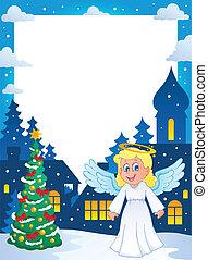 Christmas topic frame 1