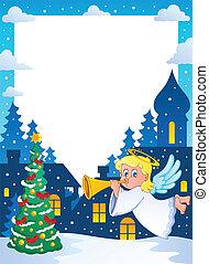 Christmas topic frame 2
