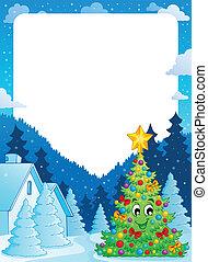 Christmas topic frame 7
