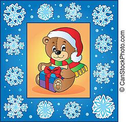 Christmas topic greeting card 1