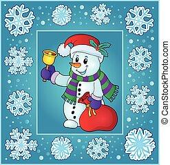 Christmas topic greeting card 9