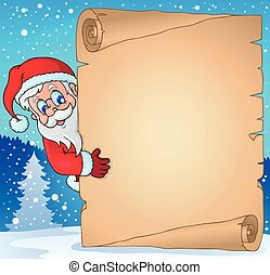 Christmas topic parchment 3