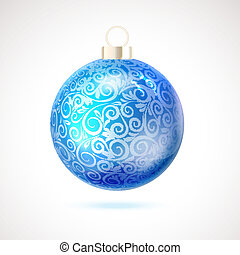 Christmas toy. - Christmas toy isolated on white background....