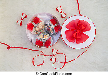 Christmas toy heart