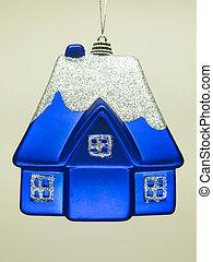 Christmas toy isolated on white background