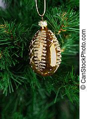 Christmas Toy on the Christmas tree