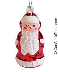 Christmas Toy Santa Claus, isolated
