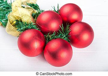 Christmas toys background