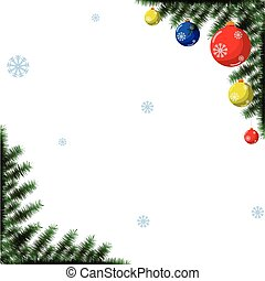 Christmas toys - Christmas red toys made in vector ...