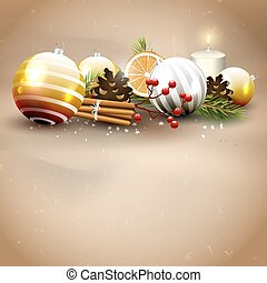 Christmas traditional background