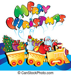 Christmas train.