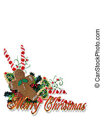 Christmas Treats Corner with text - Image and Illustration...