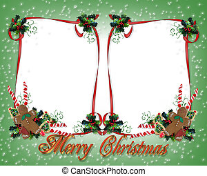 Christmas Treats double frame - Image and Illustration...