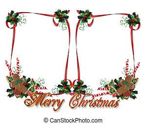Christmas Treats double frame