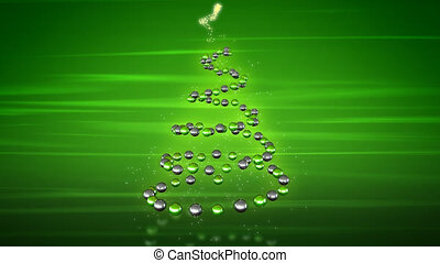 Christmas tree - 3D Animation