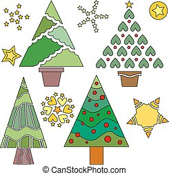 Christmas Tree and Star Collection
