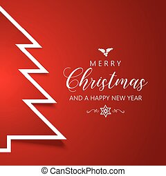 christmas tree background 1911 - Christmas background with...