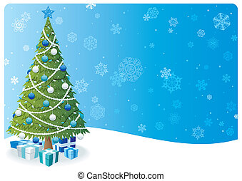 Christmas Tree Background 2