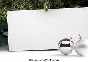christmas tree backgrounds - Live Christmas tree on a white...