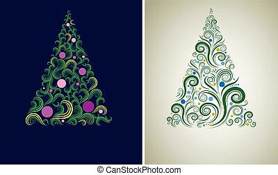 Christmas tree backgrounds