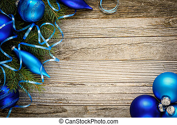 Christmas Tree Branch with Decorations