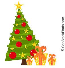 Christmas tree design