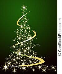 Christmas tree - Green Christmas tree