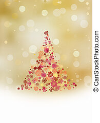 Christmas tree. EPS 8